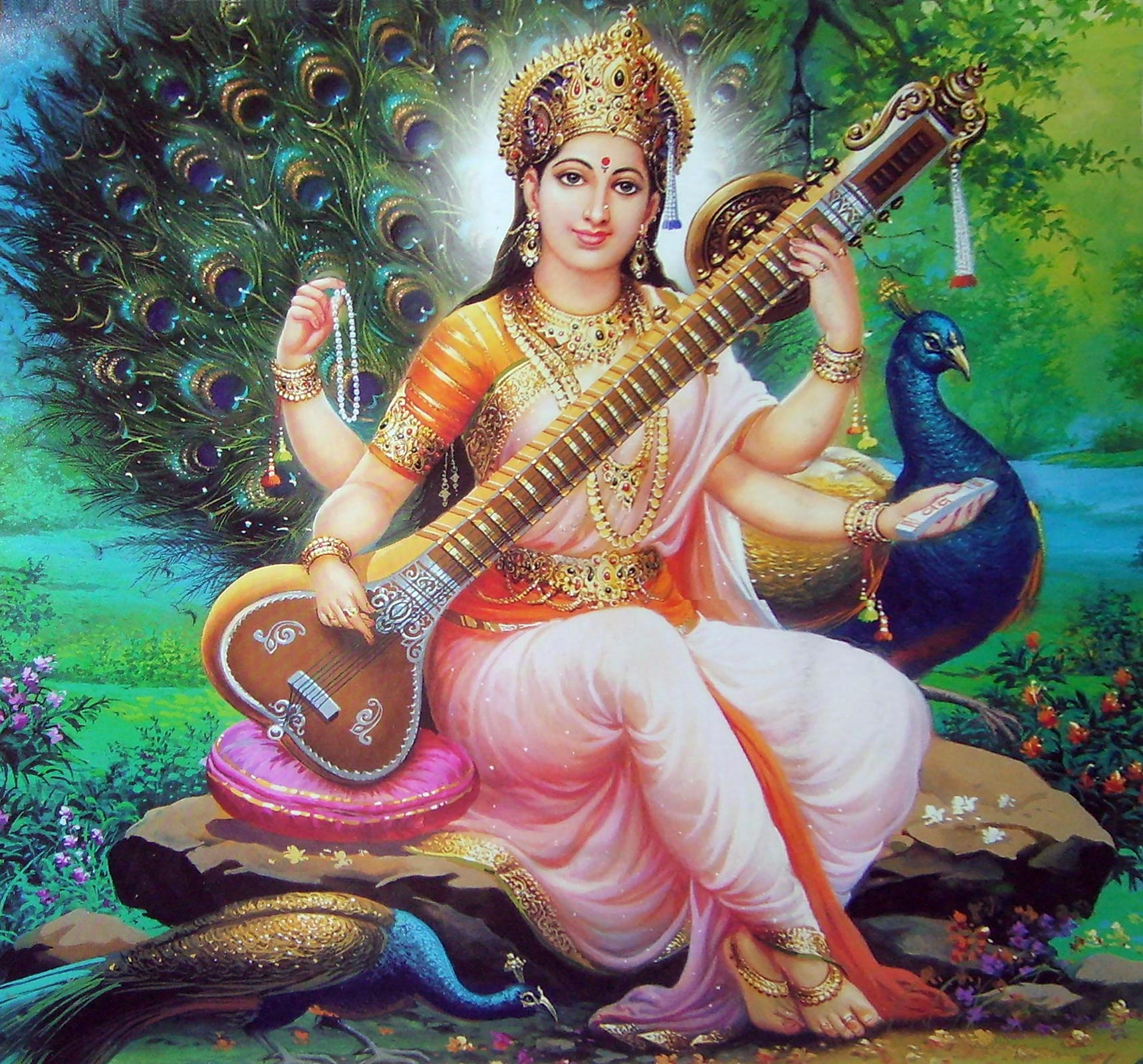 devi-saraswati-photo-for-education